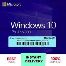WINDOWS 10 Pro Professional 32/64bit Activation License Key - Instant Delivery ✅