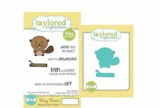 Taylored Expressions Rubber Stamp(6)/Die(2) Set  ~ BUSY BEAVER ~TEPS222