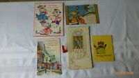 Vintage Greeting Cards Three Little Kittens Confirmation Christmas Lot of 5