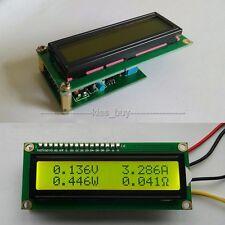 Dual Display LCD Multimeter Voltage Current Power Capacity Resistance Time Mete