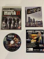 Mafia II (Sony PlayStation 3, 2010) Complete Tested