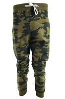 UK Men's Camouflage Camo Workout Joggers Trousers Pants Sport Sweatpant Bottom