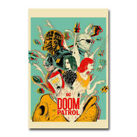 Doom Patrol DC Universe Superhero TV Series Art Silk Poster Canvas Print