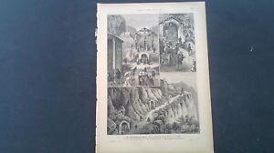 1888 cs Chronik ...Ansicht 233 / Bozen Kalvarienberg