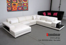 New Modern Euro style leather sectional sofa set S1013