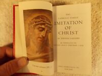 The Catholic Family Imitation of Christ by Thomas A. Kempis (Hardcover, 1964)