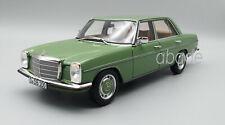 MERCEDES BENZ 200/8 W115 1973 Grün Modellauto 1:18 Norev 183774 OVP!