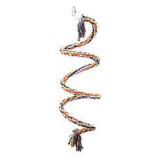 Riesige Sisal Spirale Sitzstange Seil Papagei Parrot Giant Cotton Curl NEU