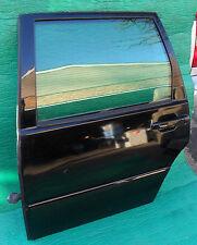 Volvo S70 V70 Left Rear Complete Door Black OEM 98 99 2000