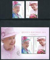 Australien Australia 2014 Königin Elisabeth Geburtstag QE II Royalty MNH