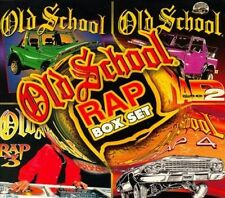 Old School Rap, Vol. 1-4 [Box Set] [Box] by Various ...