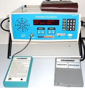 DGH 1000 Ultrasonic Pachymeter
