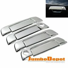 Triple Chrome Side Door Handle Cover Trim Set Fit BMW E32 E34 E36 3 5 7-Series