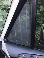 BMW X5 Series E53 Left N/S Rear Door Sun Blind Dunkel Grau 8266357