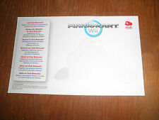 MARIO KART WII - Carte VIP Code PIN Club Nintendo - pas de jeu NO GAME