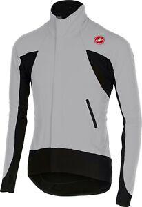 Castelli Alpha Men's Long Sleeve Cycling Jersey Size Large Grey