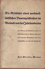 Die Geschichte eine nordwestsächs.Bauerngeschlechtes /Mulde/Eula/Werdau/1933