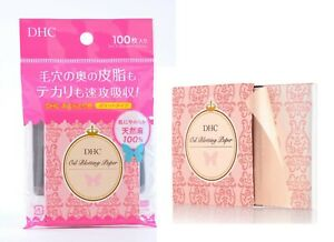 DHC On-the-go Facial Blotting Papers Paper 100pcs Japan Made