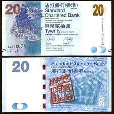 HONG KONG 20 Dollars 01.01. 2010 UNC P 297 a