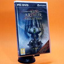 KING ARTHUR COLLECTION PC gioco + espansioni edizione italiana
