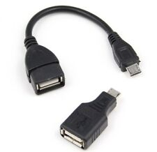 Micro USB Host Male to USB Female OTG Cable & Adapter for Samsung HTC Lumia Sony