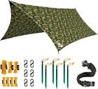 Rain Fly EVOLUTION 12x10 Lightweight Camping Tarp; 100% 12X10 ft, Camo