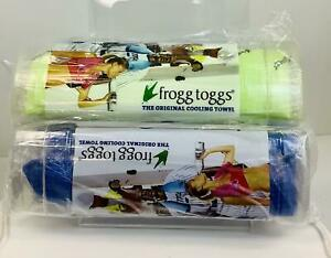 """2 PACK Frogg Toggs Chilly Pad Cooling Towel