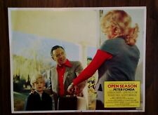 Rare 1974 Lobby Card - Open Season - William Holden, Original, 11x14