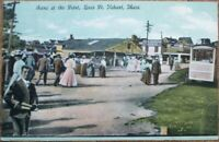 Nahant, MA 1908 Postcard: Scene at Bass Point - Massachusetts Mass