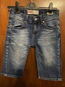 Boys Levi 511 Slim Shorts Age 10