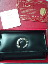 Cartier Panthere Brown Smooth Lacquered Leather 6 Key Holder Model: L3000339