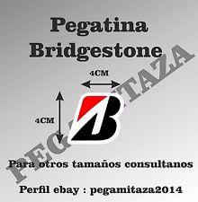 Pegatina Bridgestone Sticker Vinilo Adhesivo motor, coche, moto, ruedas, marca