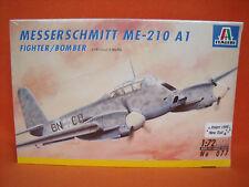 ITALERI ® 077 Messerschmitt me-210 a1 FIGHTER/Bomber 1:72