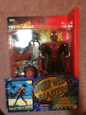 Marvel Spiderman Adventure Hero Water Web Blasters Aqua Cannon Toy Biz 10 Inch