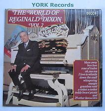 REGINALD DIXON - The World Of Reginald Dixon Vol 2 - Ex LP Record Decca SPA 474