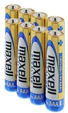 18 MAXELL AAA ALKALINE BATTERIES AKA LR03 MN2400 AM4 LR3 1.5V EXPIRY 11/2023 NEW