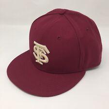 NIKE TRUE Sz 7 3/8 Florida State Seminoles DriFit Maroon Baseball Hat Fitted 2A