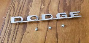 61 62 63 64 65 66 67 Dodge Truck Sweptline Fender Emblem 1961 1962 1963 1964