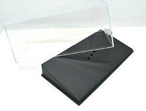 TECA vetrina BOX per modellino auto Scala 1:43 modellismo diecast show case car