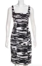 Calvin Klein Black + White Printed Mini Dress XL US 12