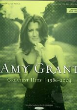 Amy Grant Greatest Hits 1986 - 2004  songbook christian sheet music medium voice