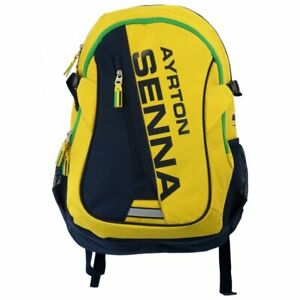 Ayrton Senna Collection F1 Backpack Yellow