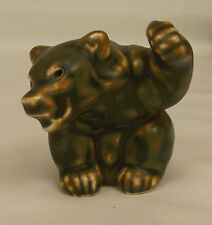 Vintage Khud Kyhn BROWN BEAR CUB PAW UP Royal Copenhagen Figurine #21433 Denmark