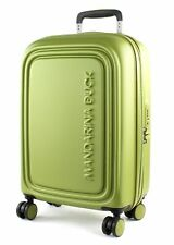 MANDARINA DUCK Logoduck + Expandable Trolley S Trolley Tasche Guacamole Grün