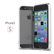 Case Army Dust Proof TPU Bumper Hard Back Clear Case for Apple iPhone 5 5S SE 5G