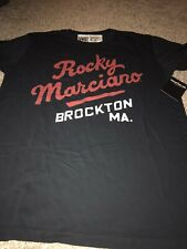 ROOTS OF FIGHT BOXING ROCKY MARCIANO BLACK T-SHIRT XXL 2XL