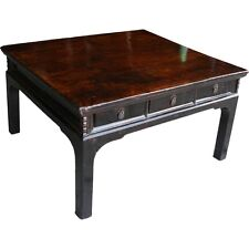 Original Chinese Antique Coffee Table 6 Drawers (10-098A)
