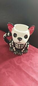 Frenchie Skeleton Mug