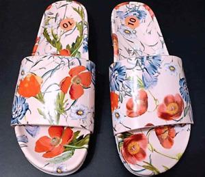 Aldo Floral Slides Sandals For Women Size 10