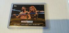 2018 TOPPS WWE WOMEN'S BECKY LYNCH BOBBY ROODE MIXED MATCH GOLD PARALLEL 02/10